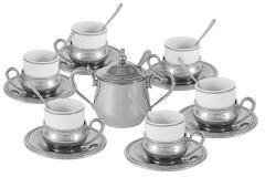 Кофейный набор Экстра-люкс, 6 персон, 26 предметов