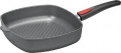 Сковорода квадратная гриль со съемной ручкой Woll 28 х 28 см Induction Line