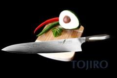 Tojiro-Flash (Дамаск) FF-CH270 Поварской нож