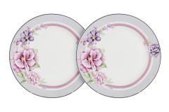 Набор 6 закусочных тарелок Цветочная феерия