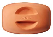 Крышка из терракотовой глины 32х22 см Woll
