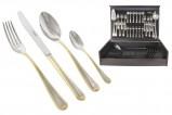 Набор столовых приборов 75 предметов на 12 персон Santorini Gold
