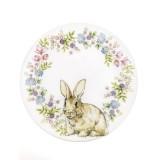 Тарелка 22 см Кролик в венке Churchill от Пасха
