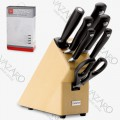 Набор ножей 7 предметов в подставке, серия Grand Prix, WUESTHOF, Золинген, Германия