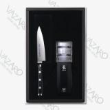 Набор ножей (нож универсальный 12 см и точилка), серия GOU, YAXELL, Япония