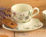 Набор для завтрака: чашка+тарелка «Прованс» арт.PRV-7960