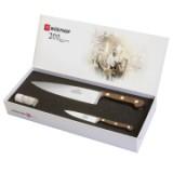 Набор кухонных ножей 2 шт, выпущенный к 200 летнему юбилею в подарочной упаковке, серия Promotion, WUESTHOF