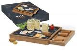 Набор для сыра: разделочная доска + 4 ножа Мир сыров