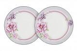 Набор из 2-х закусочных тарелок Цветочная феерия