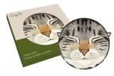 Подставка керамическая Кошки (серая)