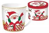 Кружка Дед Мороз (бел.) в подарочной упаковке
