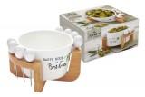 Набор для закуски: чаша д/оливок + 8 шпажек на подставке Kitchen Elements в подарочной упаковке